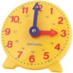 小学生の時計問題は紙より前におもちゃ 時計で練習する